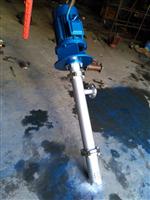 立式单螺杆泵